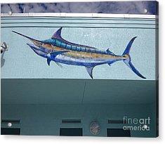 Sailfish Splash Park 1 Acrylic Print by Carey Chen