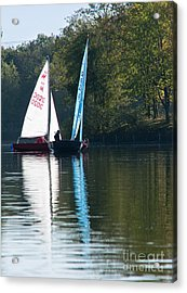 Sailing Boats Acrylic Print by Andrew  Michael