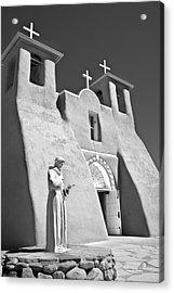 Saint Francisco De Asis Mission Acrylic Print by Melany Sarafis