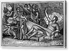 Saint Lawrence (c225-258) Acrylic Print by Granger