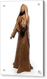 Saint Rose Philippine Duchesne Sculpture Acrylic Print by Adam Long