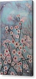 Sakura Acrylic Print by Yulia Litvinova