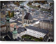 Salzburg  Acrylic Print by Anthony Citro