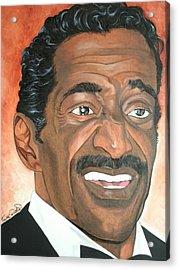 Sammy Davis Jr. Acrylic Print by Timothe Winstead