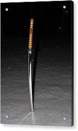 Samurai Acrylic Print by James Collier