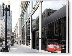 San Francisco - Maiden Lane - Prada Italian Fashion Store - 5d17800 Acrylic Print by Wingsdomain Art and Photography