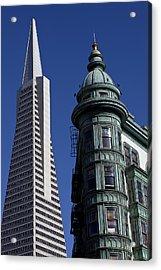 San Francisco Buildings Acrylic Print by Garry Gay