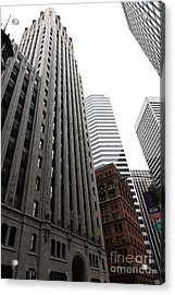 San Francisco Shell Building - 5d17860 Acrylic Print by Wingsdomain Art and Photography