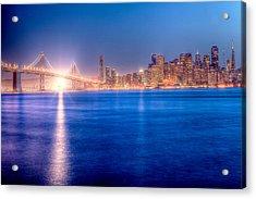 San Francisco Skyline Acrylic Print by Ariane Moshayedi