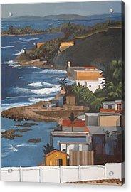San Juan Acrylic Print by Alexander Buck