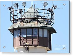 San Quentin State Prison In California - 7d18534 Acrylic Print by Wingsdomain Art and Photography