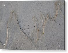 Sand Mountains Acrylic Print by Charles Warren