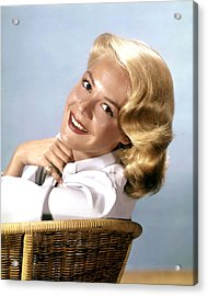 Sandra Dee, Ca. 1950s Acrylic Print by Everett