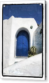 Santorini 1 Acrylic Print by Mauro Celotti