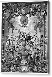 Savonnerie Panel C1800 Acrylic Print by Granger