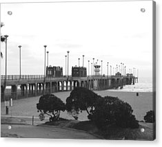Scenes Of Los Angeles, Huntington Beach Acrylic Print by Everett