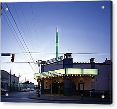 Scenes Of Texas, The Guadalupe Cultural Acrylic Print by Everett