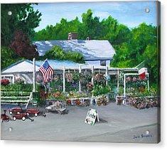 Scimone's Farm Stand Acrylic Print by Jack Skinner