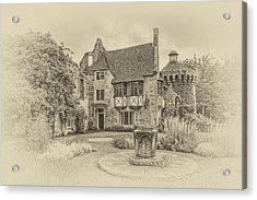 Scotney Castle Acrylic Print by Chris Thaxter