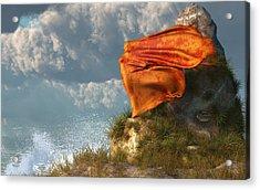 Sea Breeze Butterfly Acrylic Print by Daniel Eskridge
