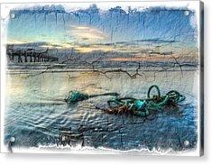 Sea Knot Acrylic Print by Debra and Dave Vanderlaan