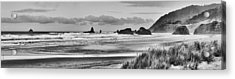 Seaside By The Ocean Acrylic Print by James Heckt
