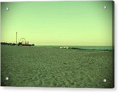 Seaside Park II - Jersey Shore Acrylic Print by Angie Tirado