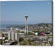 Seattle: Cityscape, 2009 Acrylic Print by Granger