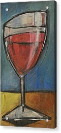 Second Glass Of Red Acrylic Print by Tim Nyberg