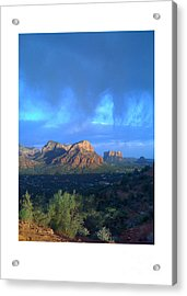 Sedona Clouds Acrylic Print by Nina Prommer
