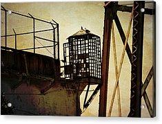 Sentry Box In Alcatraz Acrylic Print by RicardMN Photography