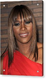 Serena Williams At Arrivals For Glamour Acrylic Print by Everett