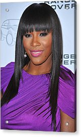Serena Williams At Arrivals For Range Acrylic Print by Everett