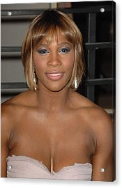 Serena Williams At Arrivals For Vanity Acrylic Print by Everett