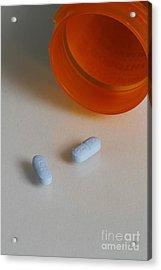 Sertraline Hydrochloride Tablets Acrylic Print by Photo Researchers, Inc.