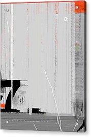 Seven Acrylic Print by Naxart Studio