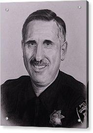 Sgt. Weaver Acrylic Print by Patrick Entenmann