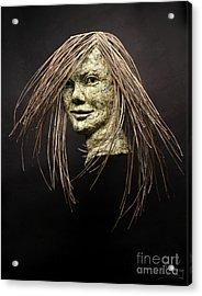 Shana Acrylic Print by Adam Long