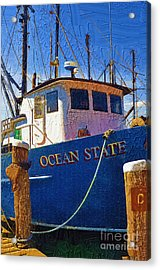 Ship Of State Acrylic Print by Diane E Berry