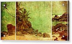 Shipwrecked Acrylic Print by Andrew Paranavitana