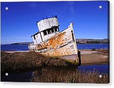 Shipwrecked In Inverness Acrylic Print by Richard Leon