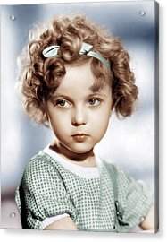 Shirley Temple, Ca. 1934 Acrylic Print by Everett