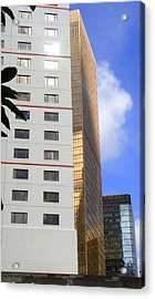 Buildings Acrylic Print featuring the photograph Shy Jewel by Roberto Alamino