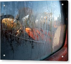 Side View Into The Past Acrylic Print by Steven Milner