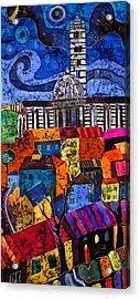 Siena Acrylic Print by Sandra Kern