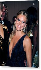 Sienna Miller At Arrivals For Part 2 - Acrylic Print by Everett