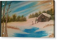 Silent Whisper Acrylic Print by Nick