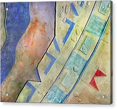 Silversky Detail Acrylic Print by Dayton Claudio