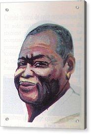 Simon Kimbangu Acrylic Print by Emmanuel Baliyanga