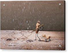 Simple Things - Christmas 04 Acrylic Print by Nailia Schwarz